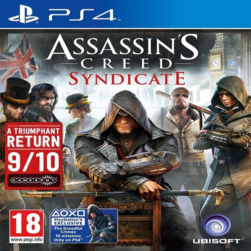 Image of Assassin´s creed unity, PS4