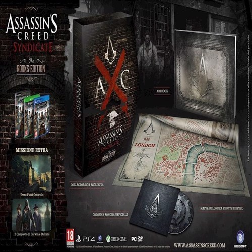Image of   Assassins Creed Syndicate Nordic - PS4