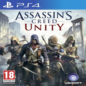 Image of Assassins creed unity, PS4