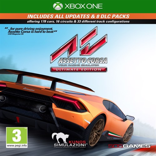 Image of Assetto Corsa Ultimate Edition - PS4 (8023171041131)
