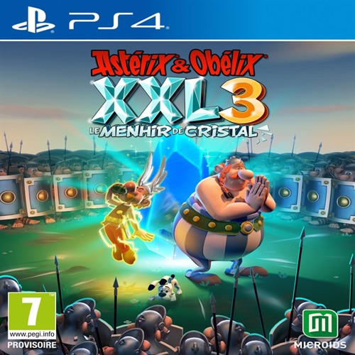Image of Asterix & Oblix XXL, the crystal menhir, collectors edition, PS4
