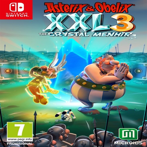 Image of Asterix & Oblix XXL 3 the crystal menhir collectors edition, Nintendo Switch