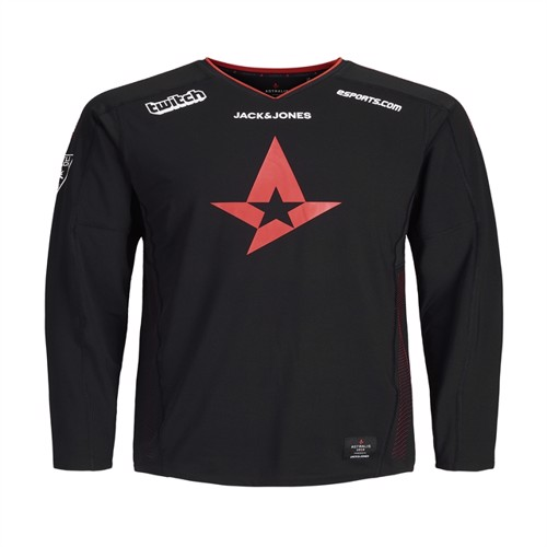 Image of Astralis Merc Official T-Shirt LS 2019 - 10 Years (5713772894412)