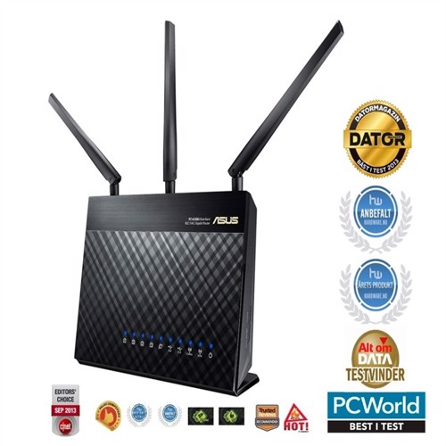 Image of Asus RTAC68U DualBand Wireless 1900Mbps Router (4716659419020)
