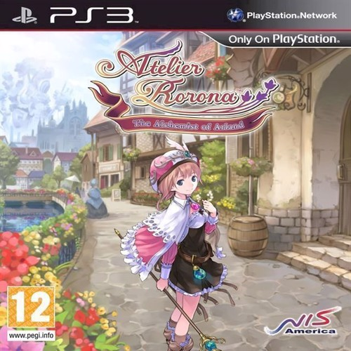 Image of Atelier Rorona The Alchemist of Arland - PS3 (0813633010472)