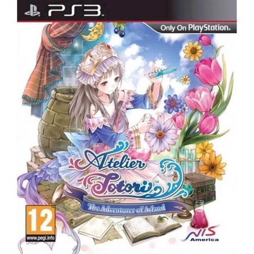 Image of Atelier Totori The Adventurer of Arland Import - PS3 (0813633011233)