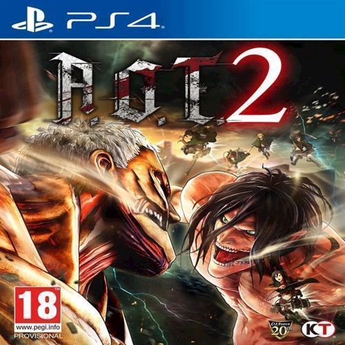 Image of Attack on Titan 2 (A.O.T. 2) - PS4 (5060327534294)