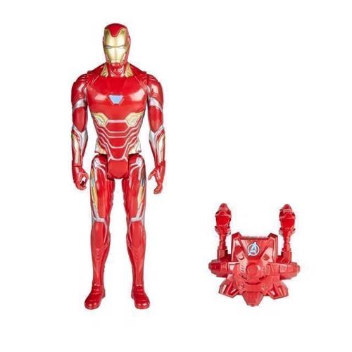 Image of Avengers - 12 Titan Hero Figure - Iron Man (5010993479771)