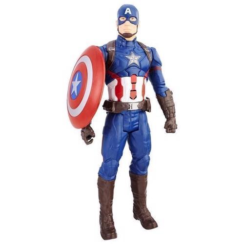Image of Avengers Titan Hero elektronisk Captain America (5010993385539)