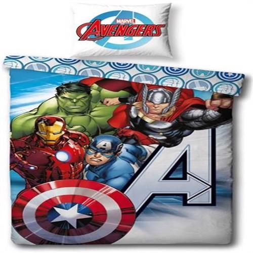 Image of Avengers, sengetøj 140x200 cm (5710348051989)