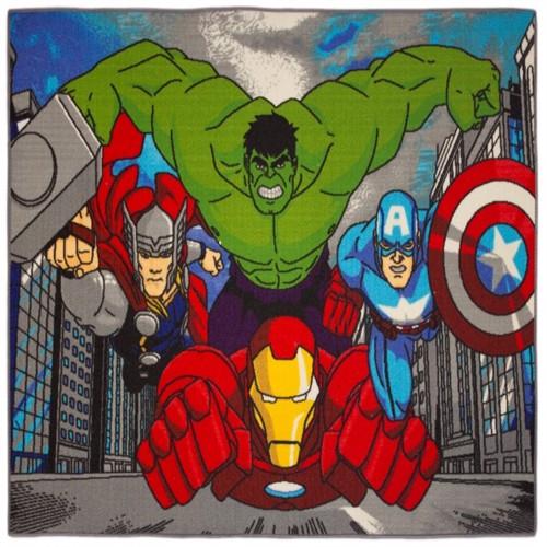 Image of Avengers Gulvtæppe 02 Til Børn 133X95
