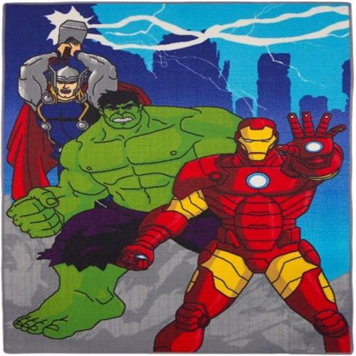 Image of Avengers Gulvtæppe 03 Til Børn 133X95