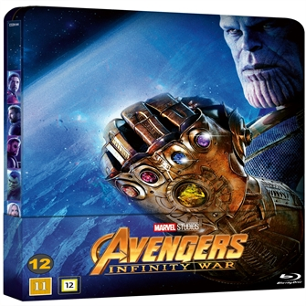 Image of Avengers: Infinity War - Limited Steelbook (Blu-Ray) (8717418528874)