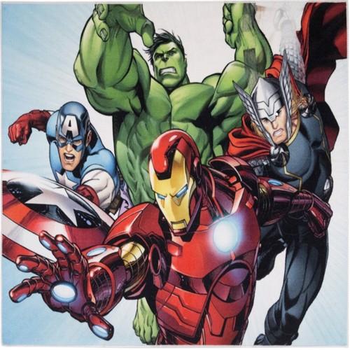 Image of Avengers Ironman Deluxe Gulvtæppe Til Børn 95X125
