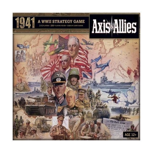 Image of Axis Allies 1940 (0653569705345)