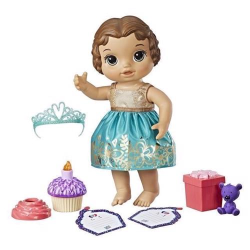 Image of Baby Alive - Cupcake fødselsdag Baby - brunette (5010993473885)