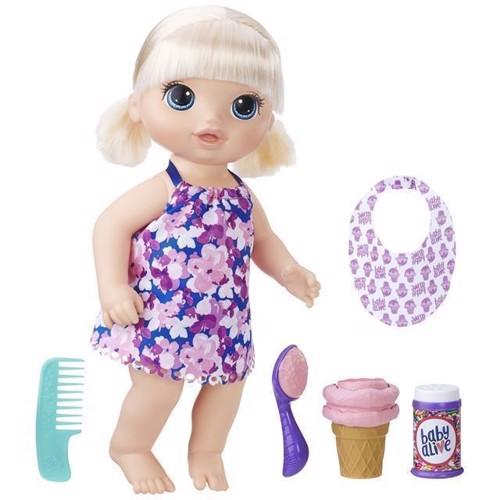 Image of Baby Alive dukke, magiske skefuld, blond (5010993380282)