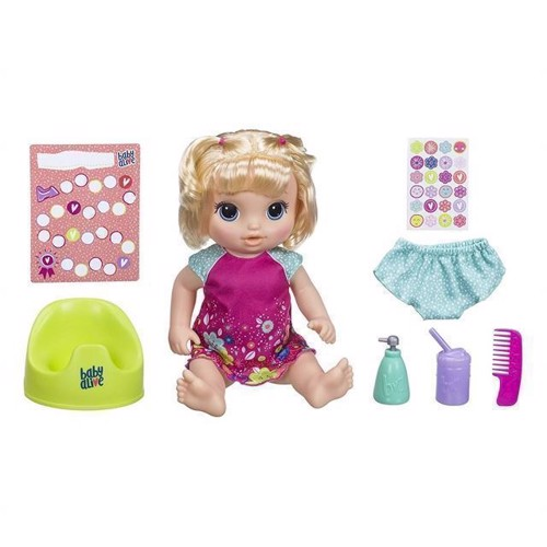 Image of Baby Alive - Potte Danse Baby Blond (5010993525270)