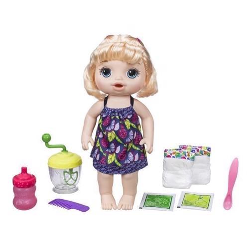 Image of Baby Alive dukke, sød skefuld, blond (5010993461141)