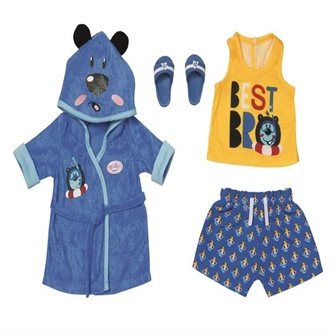 Image of BABY born - Bath Deluxe Boy Outfit 43cm (830499) (4001167830499)