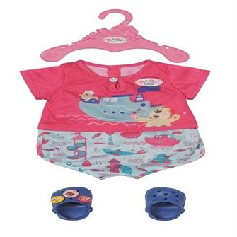 Image of BABY born - Bath Pyjamas with sko 43cm (830628) (4001167830628)