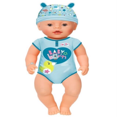 Image of Baby Born - Blød Interaktiv Dukke Dreng
