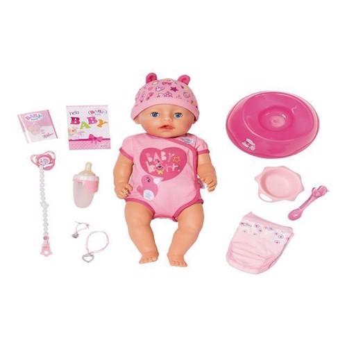 Image of Baby Born - Blød Dukke Med Blå Øjne