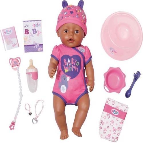Image of Baby Born Soft pige med brune øjne 43 cm