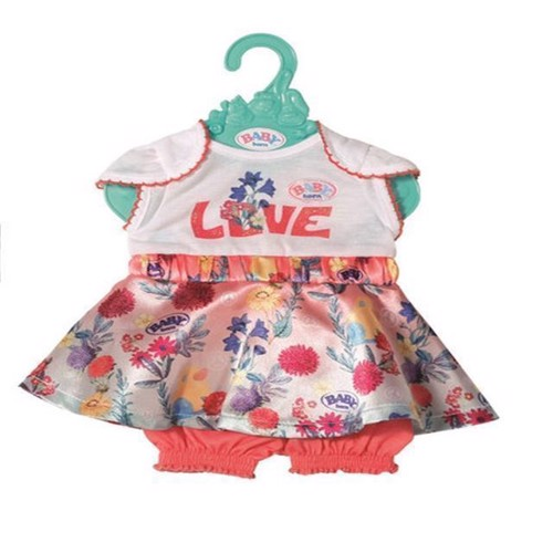 Image of Baby Born - Moderne Baby Kjole Hvid (826973)