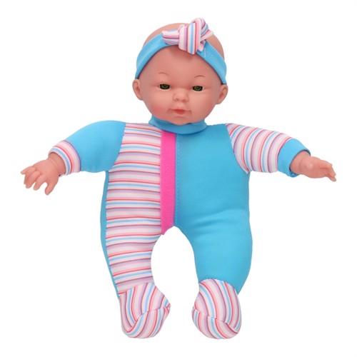 Image of Baby dukke blå, 30 cm (3800966024525)