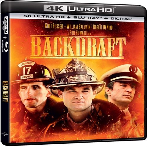 Image of back draft 4K Blu-Ray (5053083191436)