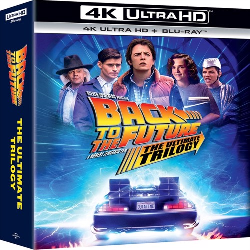 Image of Back To The Future: The Ultimate Trilogy 4K (Uhd+Bd) - Blu-ray (5053083222338)