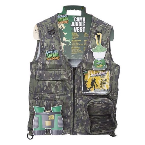 Image of   Backyard Safari - Camo Jungle Vest