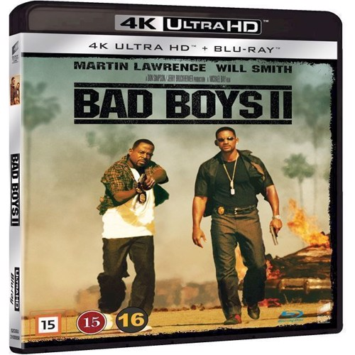 Bad Boys Ii (4K Ultra Hd + Blu-Ray)