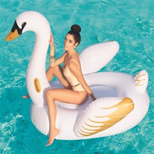 Image of Badedyr Fashion Svane Luxury 231X150Cm (6942138952414)