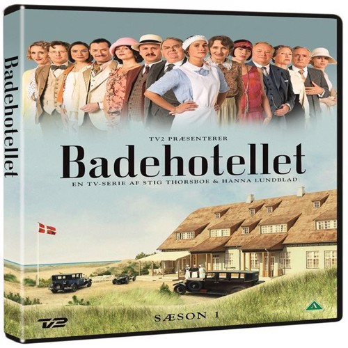 Image of Badehotellet sæson 1 DVD (5706102369704)