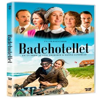 Image of Badehotellet sæson 2 DVD (5706102371134)