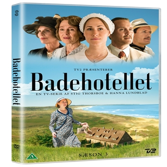 Image of Badehotellet sæson 3 DVD (5706100771233)