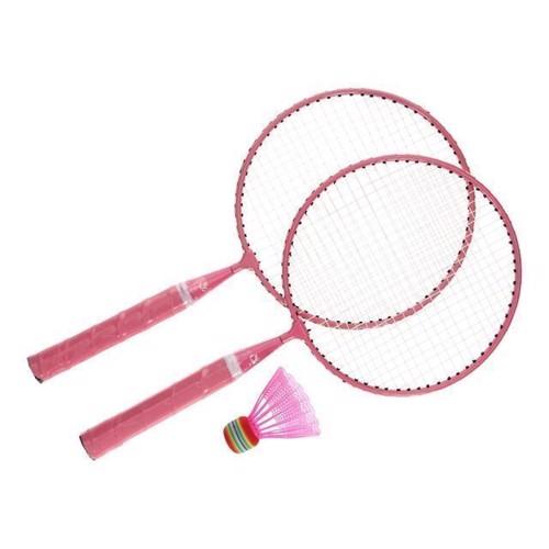 Image of Badminton sæt lyserød