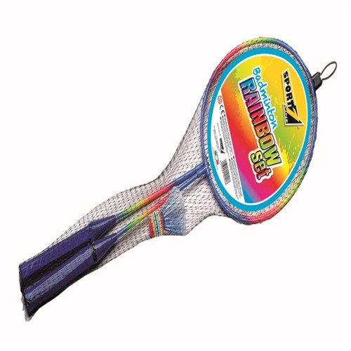 Image of Badminton Sæt Rainbow (8003029101217)