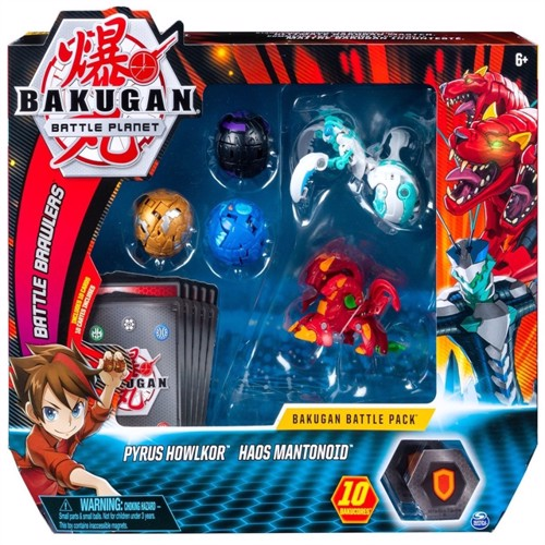 Image of Bakugan battlepack mantonid