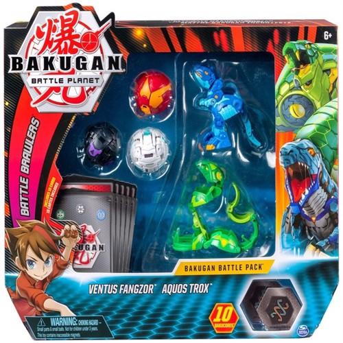 Image of Bakugan kamp Pakke Ventus Phaedrus & Pyrus Hydranoid