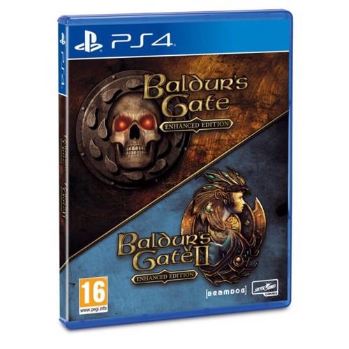 Image of Baldurs Gate Enhanced & Baldurs Gate 2 (Collectors Pack) - PS4