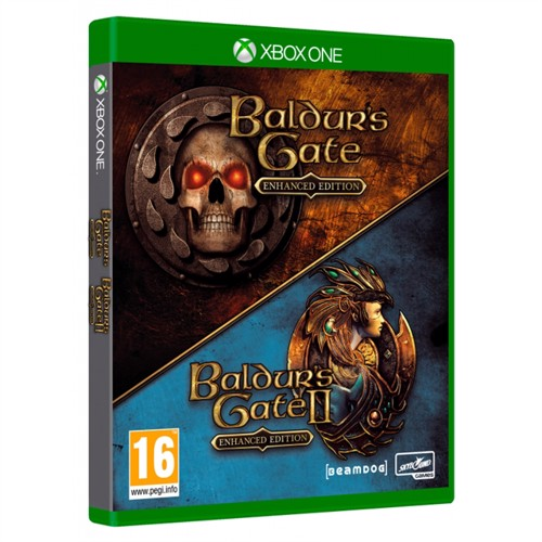 Image of Baldurs Gate Enhanced & Baldurs Gate 2 (Collector's Pack) - Xbox One (0811949032010)