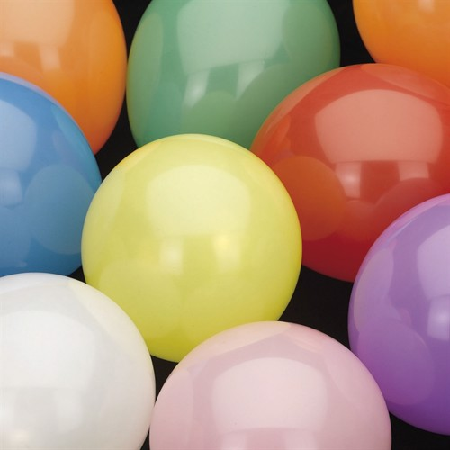 Image of Balloons Colored, 100pcs. (8711319467997)