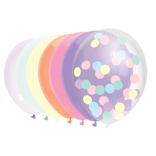 Image of Balloons Pastel, 10 pieces. (8711319421258)