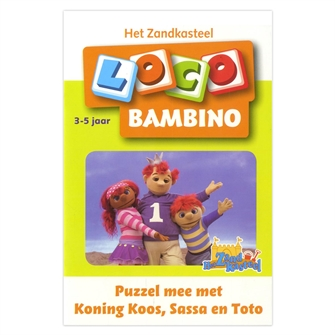 Image of Bambino Loco-Puzzle along with King chose (3-5) (9789001500917)