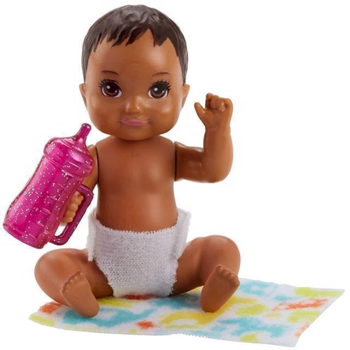 Image of   Barbie - Baby med lysebrunt hår (FHY81)