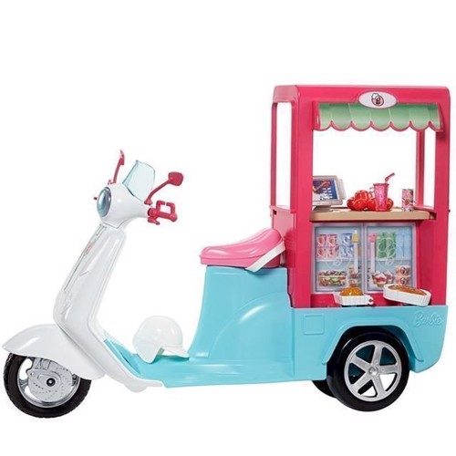 Image of   Barbie, Bistro scooter