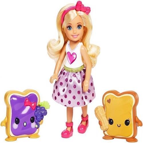 Image of   Barbie, Chelsea og venner, Chelsea og Peanutbutter